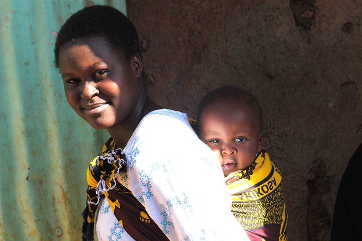One of the persevering women Toni met while in Kibera in Nairobi, Kenya