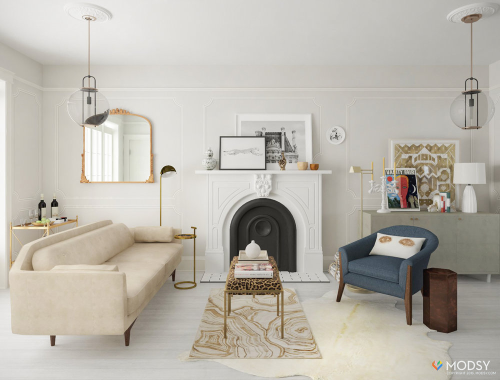 One Room Two Ways My Virtual Living Room Makeover With