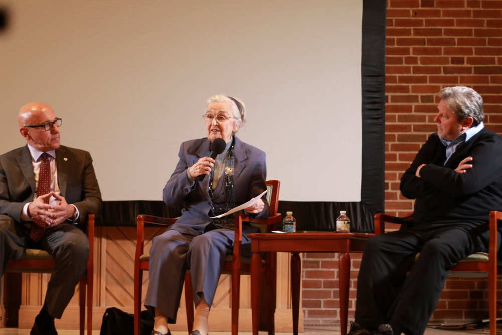 UU Wellesley hosted a Screening of the Ken Burns Film about the courageous social justice work of our former Minister and his wife, Rev. Waitstill and Martha Sharp.  Click Here to read more about the event.  Click HERE to find a recent article about the Sharps' legacy.