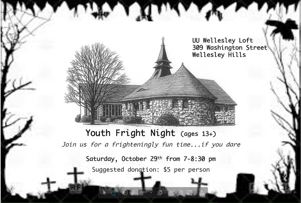 Click here for information about Youth fright night