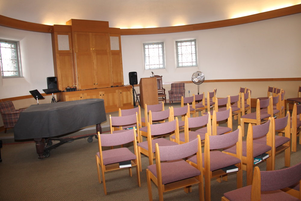chapel cAPACITY: 70  $200/ 4 hours, $400/ 8 hours fOR NON-MEMBERS $150/ 4 hours, $300/ 8 hours fOR MEMBERS