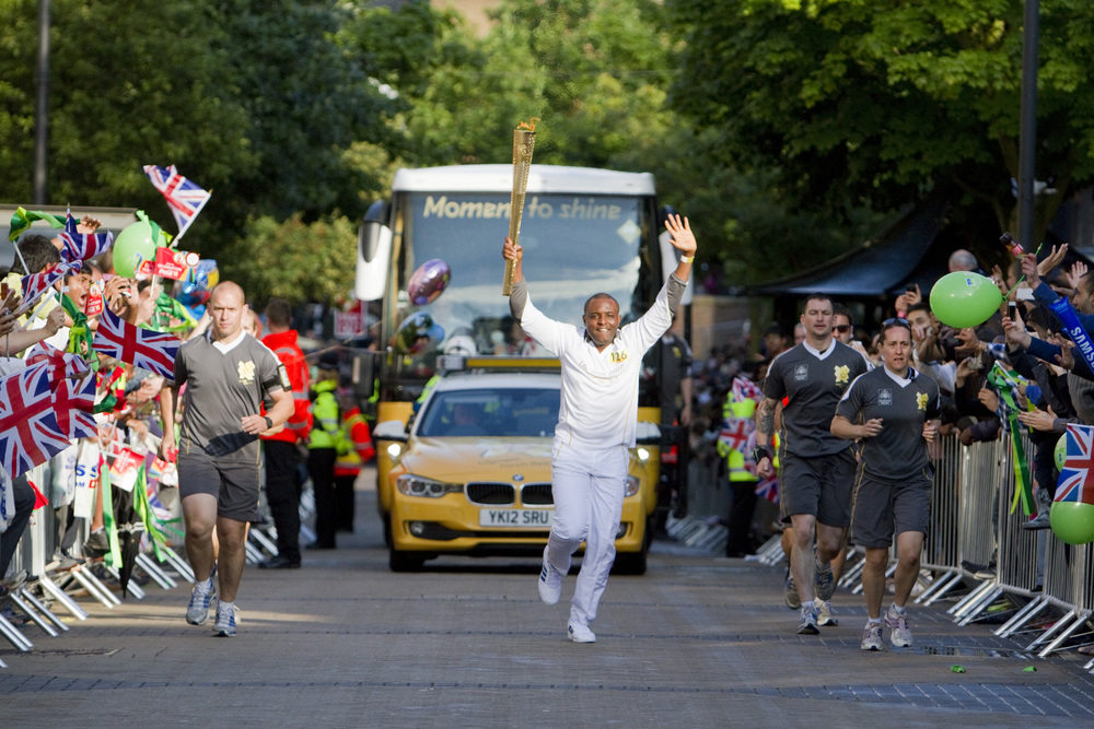 Torch coming to Luton. Click on image for more photos.
