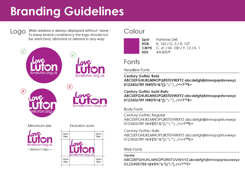 Click on the image to download the guidelines, fonts and master .ai and .indd files.