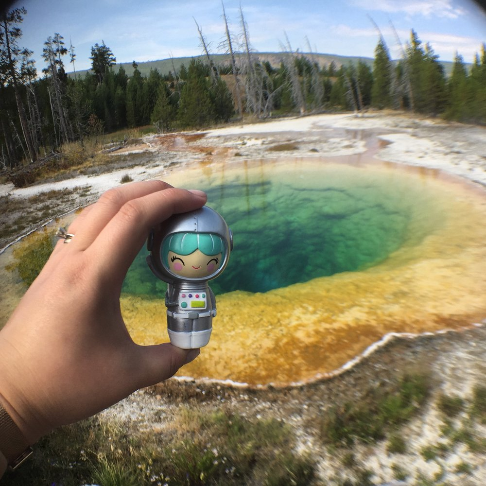 Visiting Yellowstone National Park