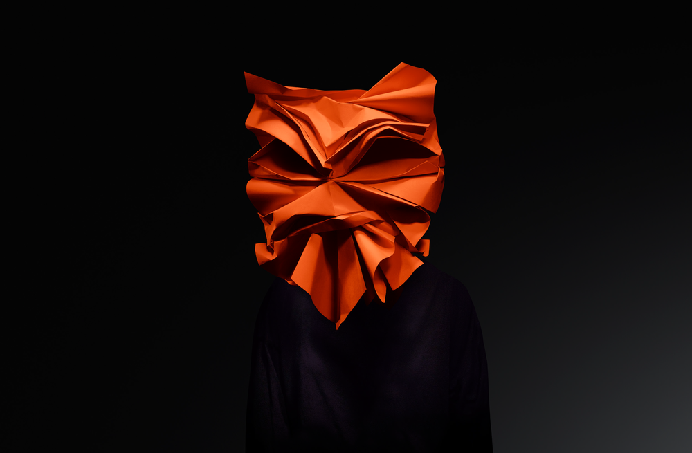 Anger - Mask for London Design Biennale 2018