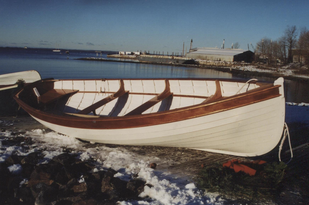 13' Lapstrake Rowboat