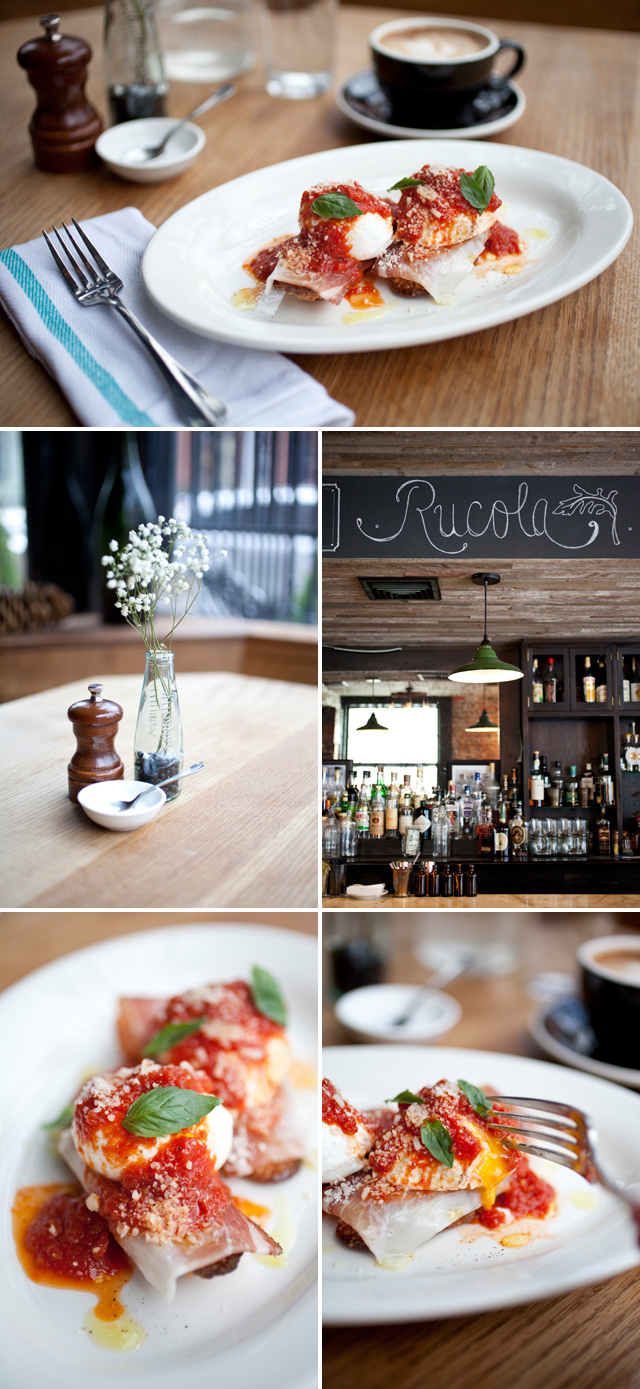 Brunch at Rucola