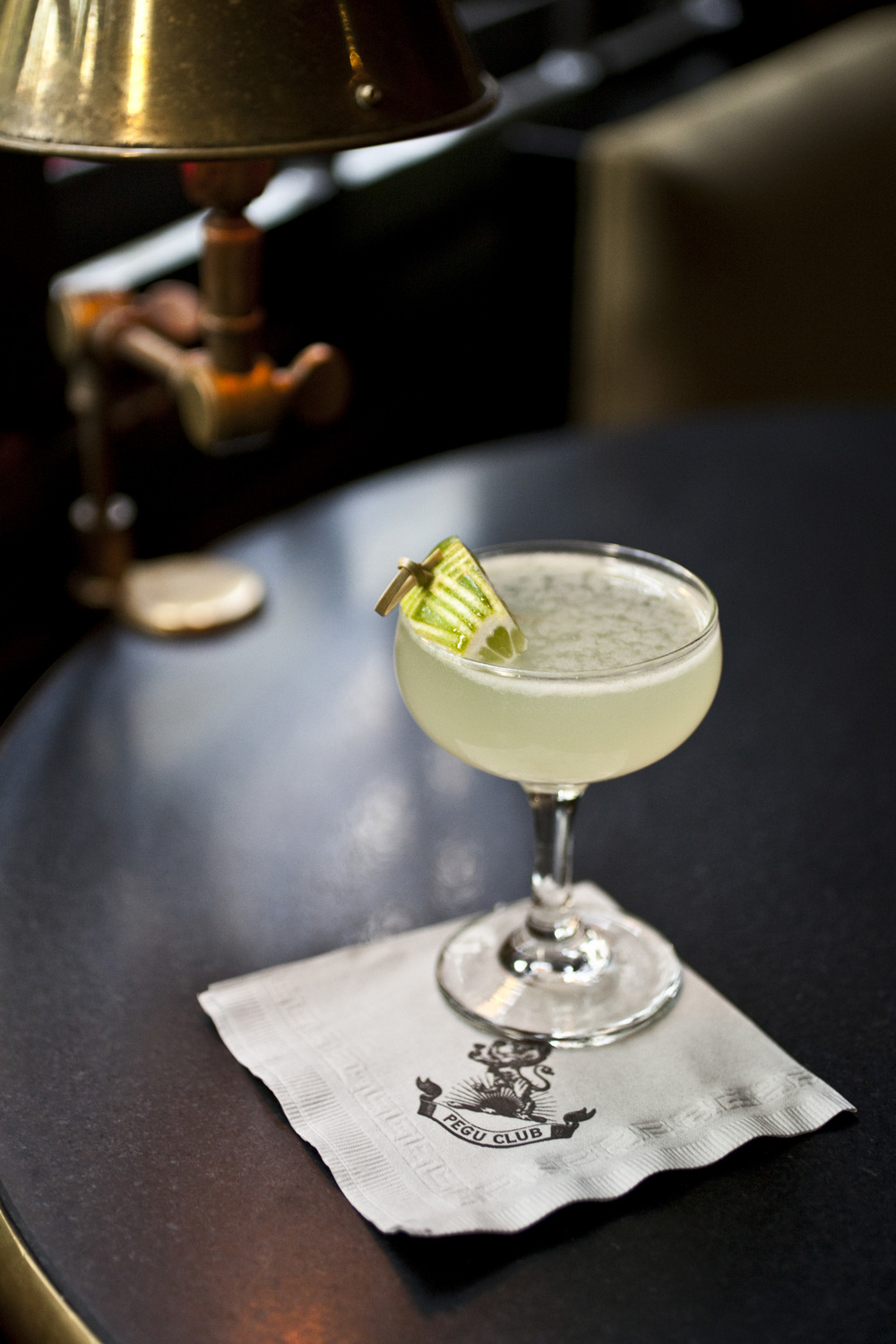 Douglas Fir Gimlet at Pegu Club