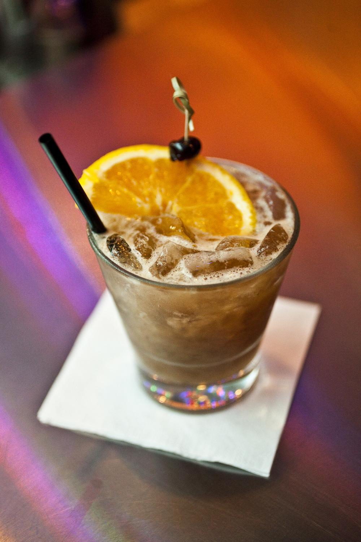 Tamarind Whiskey Sour at Whiskey Soda Lounge