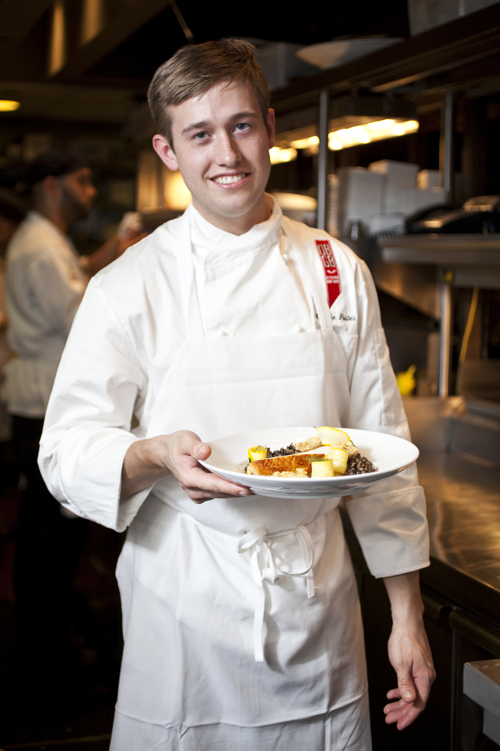 Chef Charlie Foster at DBGB