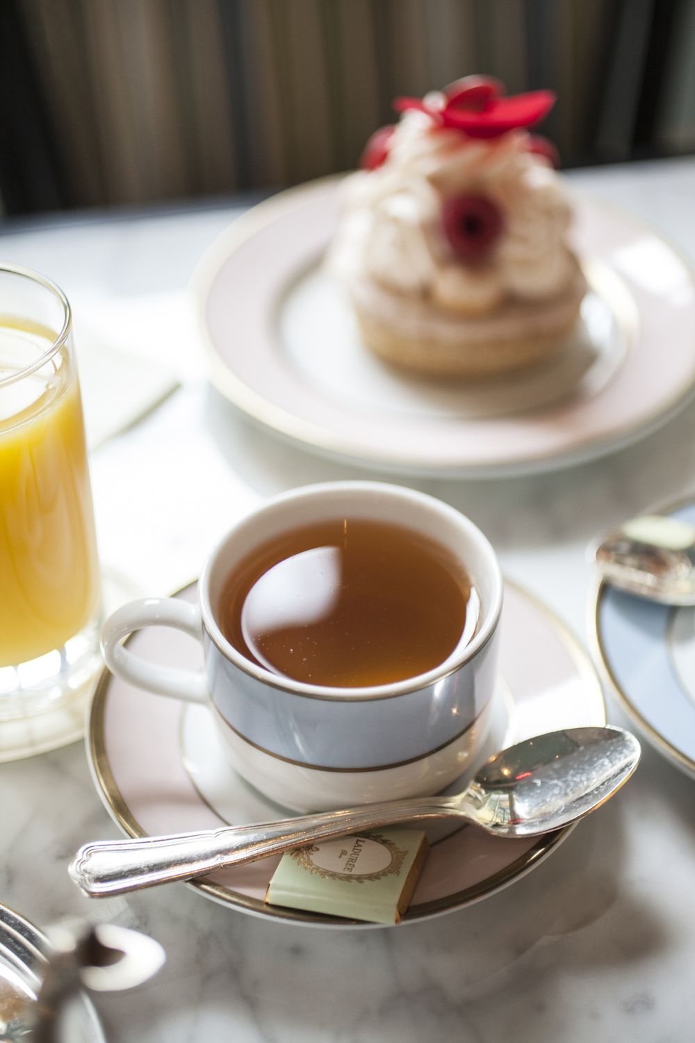 Tea at Ladurée