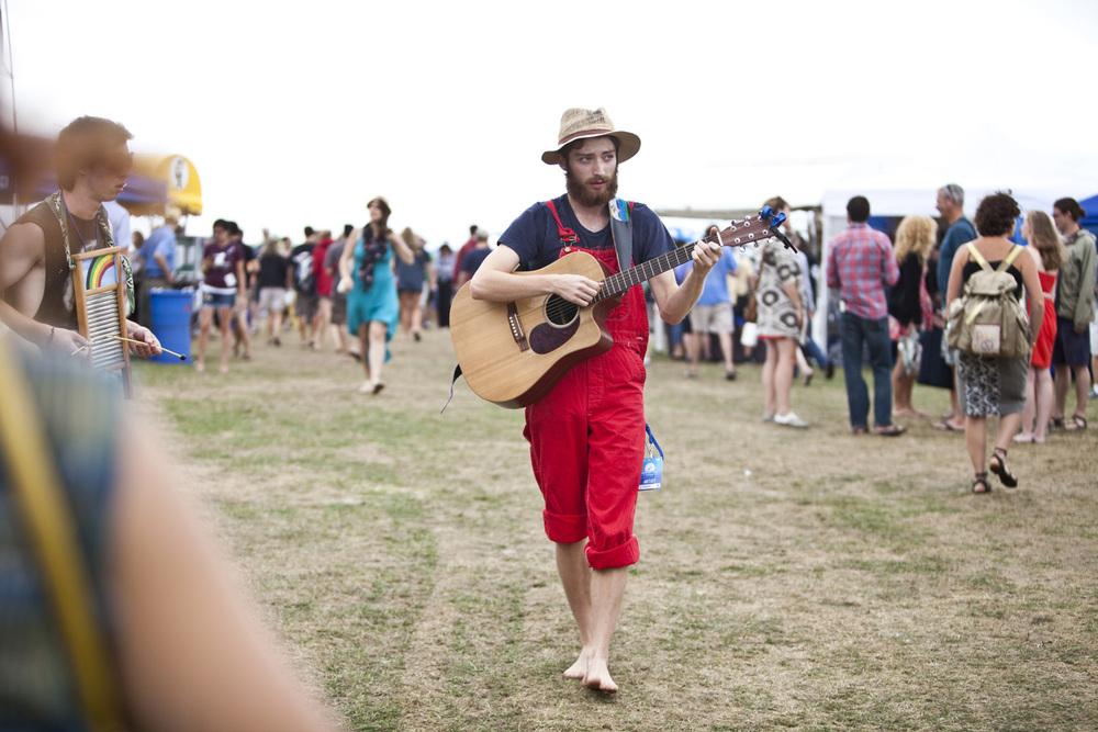 Jonah Tolchin at Newport Folk Festival