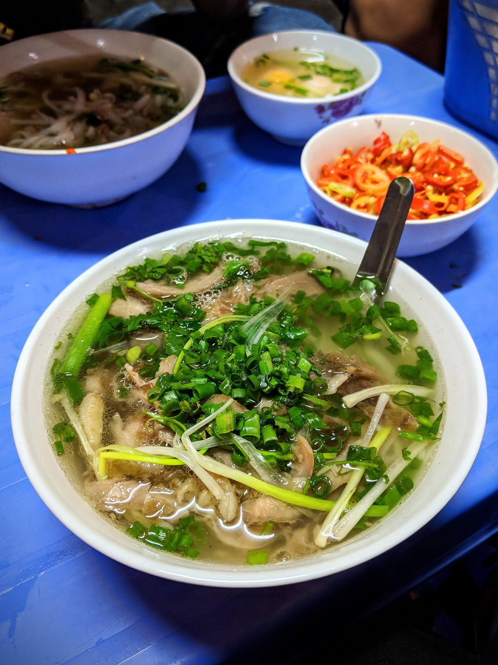 Perfect beef phở at Phở Gia Truyền Hà Nội