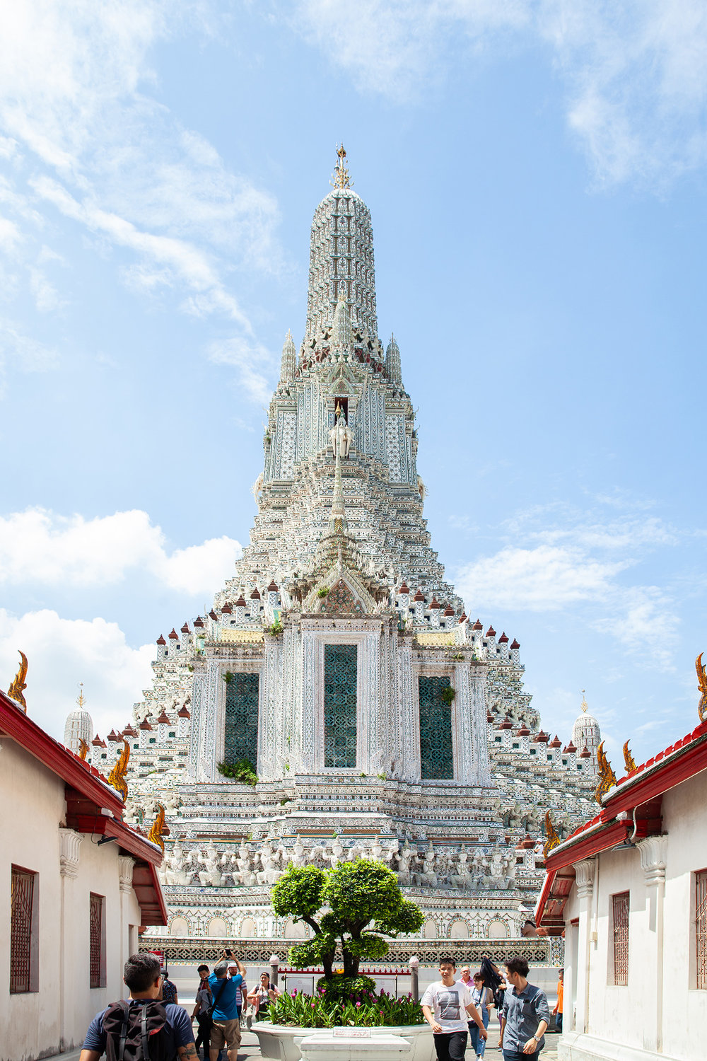 "Wat Arun, the ""temple of Dawn"""
