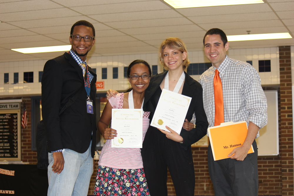 HAYFIELD SCHOLARSHIP AWARDS CEREMONY - JUNE 13TH, 2014