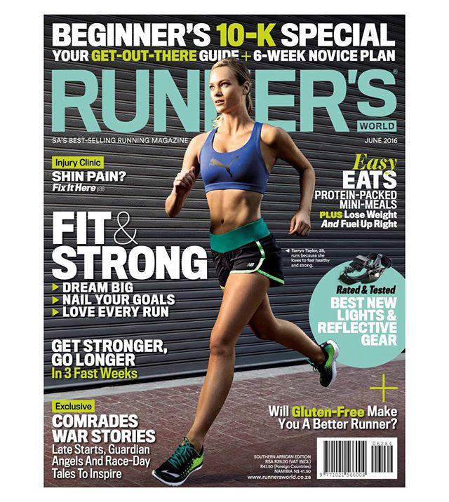 Runner's World Magazine Cover retouching. Shot by Casey Crafford. @runnersworldza; @caseycrafford; #covermodel; #fitness; #retoucher; #retouching; #fitnessphotography; #wacom; #retouchrepublic_tearsheets #retouchrepublic