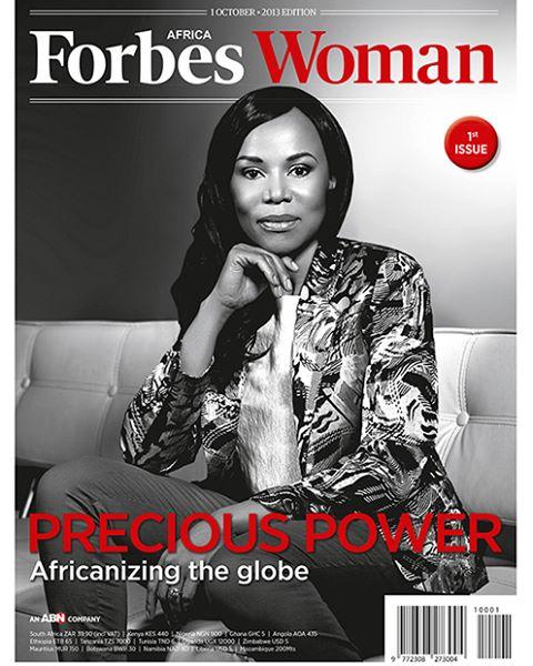 Forbes Woman Africa Magazine, Cover Retouch. Dr Precious Moloi-Motsepe shot by Tereza Cervinkova #covermodel #retoucher #retouching #wacom #retouchrepublic_tearsheets @tcervinkov #retouchrepublic