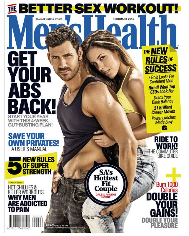 Men'sHealth South Africa Cover retouching. Shot by Garreth Barclay. Creative Director: Robert Cilliers. Model: Andene & Dale Horne @_DaleHorne  @healthygirl_with_a_sweettooth  @menshealthza  @garrethbarclay  @robdcilliers #covermodel #fitness #retoucher #retouchin; #fitnessphotography #wacom #retouchrepublic_tearsheets #menshealth #retouchrepublic