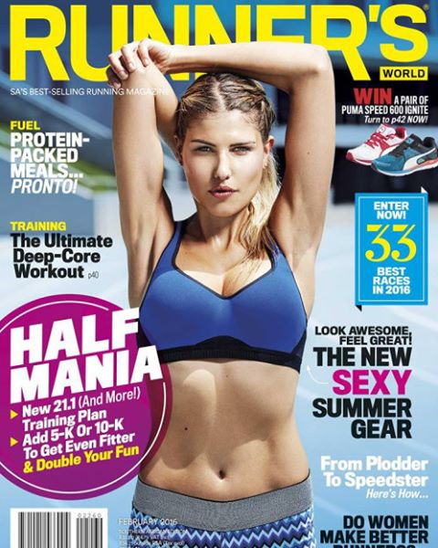 Runner's World Magazine Cover retouching. Shot by Casey Crafford.  @runnersworldza @caseycrafford #covermodel #fitness #retoucher #retouching #fitnessphotography #wacom #retouchrepublic_tearsheets #retouchrepublic