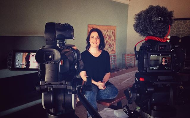 Spent the morning with Michelle, a wealth of information when it comes to T1D! #doccie #t1D #type1diabetes