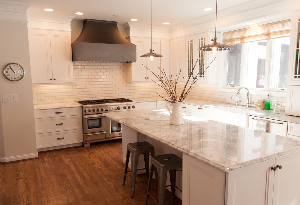 Charmant White Custom Kitchen Remodel