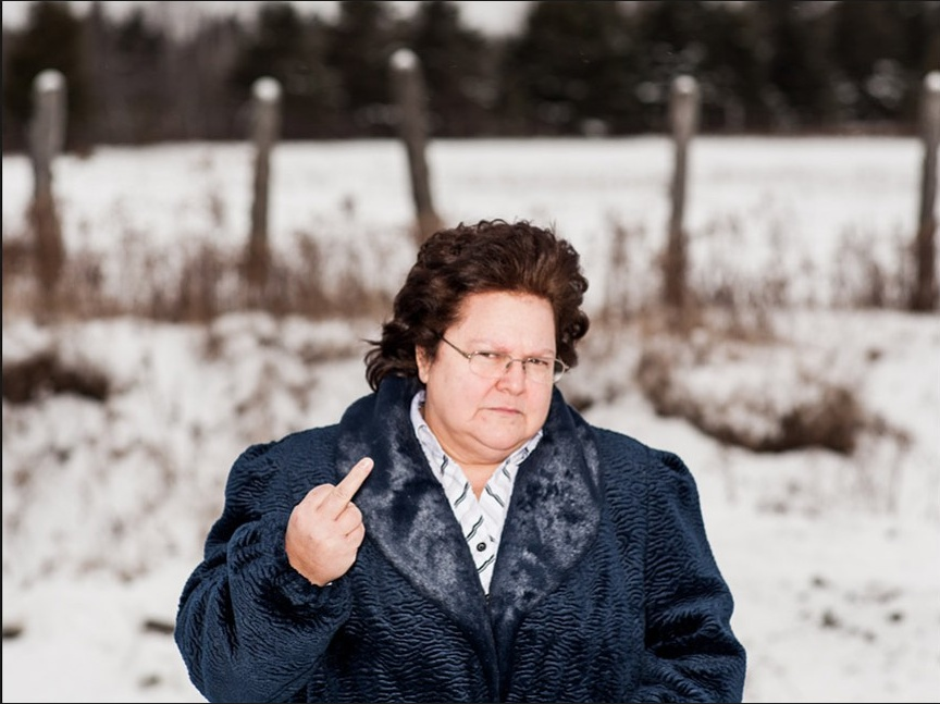 This photo of Julienne Bossé is from  Daniel Shea's awesome slideshow  for the Businessweek maple syrup story