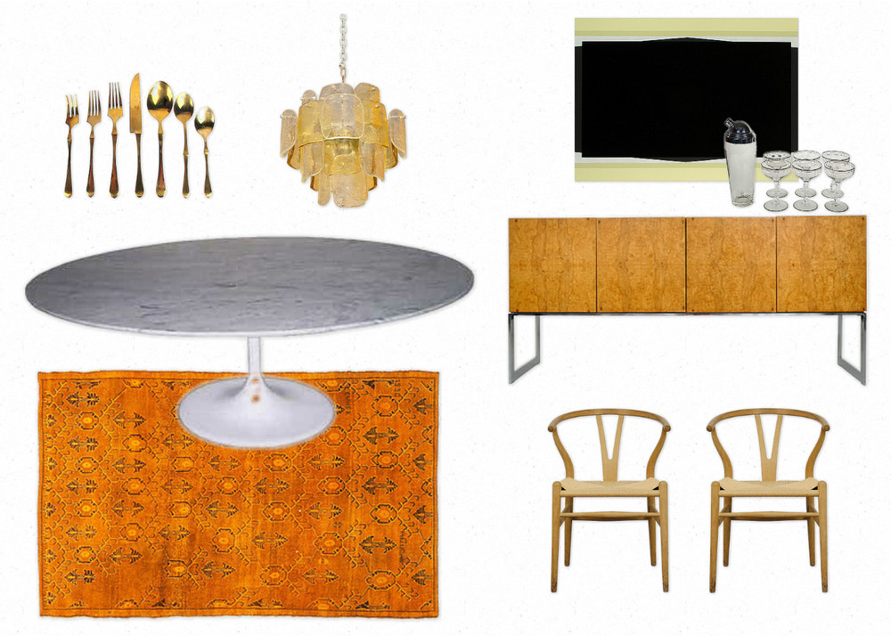 Saarinen Oval Dining Room Table room inspiration