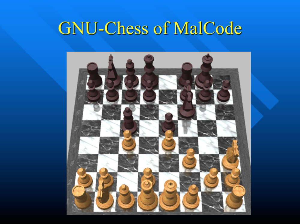 GNU-Chess of MalCode