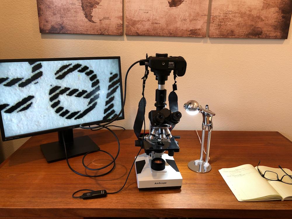 My microscopy gear