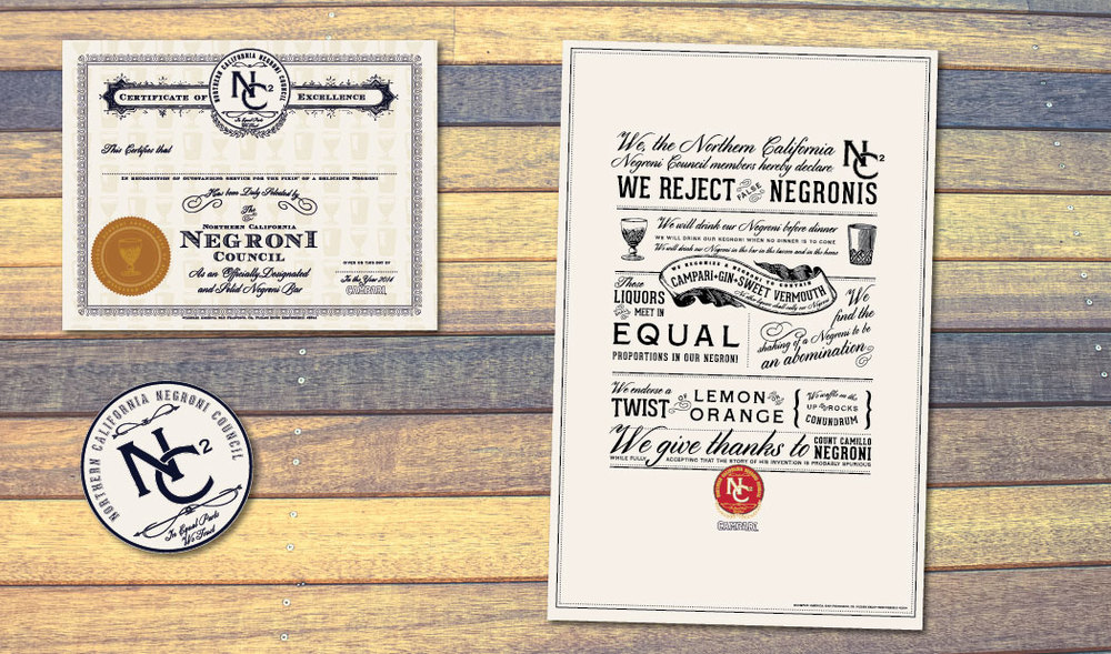 Negroni Council Branding