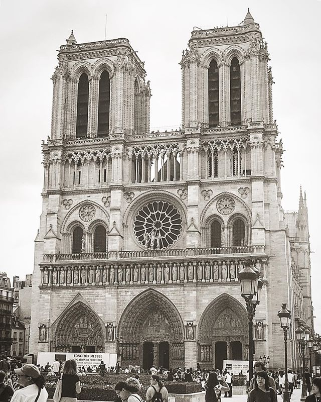 I took this 11 years ago while stopping in Paris during a 2 week trip to Europe with 5 of my close friends. It was my first time in Europe and I remember staring at Notre Dame thinking how incredible the detail in the architecture was. I remember leaving Paris feeling extremely grateful to have been able to see it in person, and now, I am even more grateful that I had that opportunity.