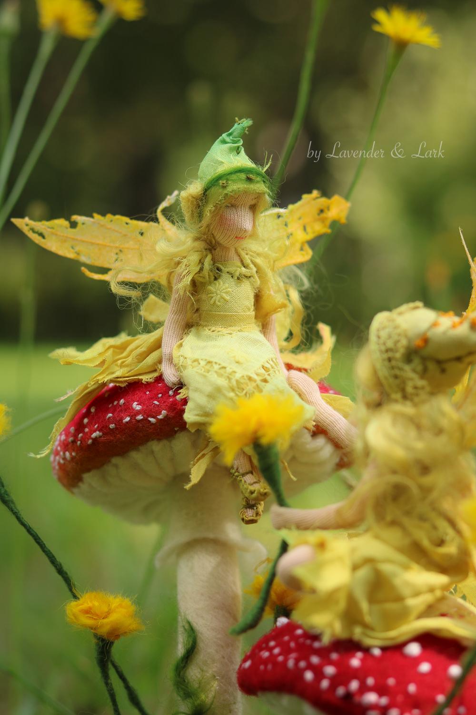 The Dandelion Faeries by Lavender & Lark