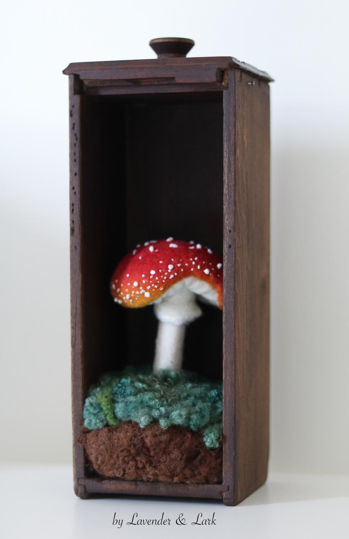 Toadstool by Lavender & Lark