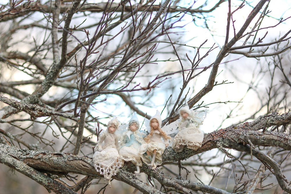 The Snow Faeries by Lavender & Lark