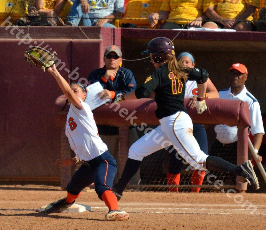 Katelyn Boyd & Kelly Saco - ASU Softball 5-12