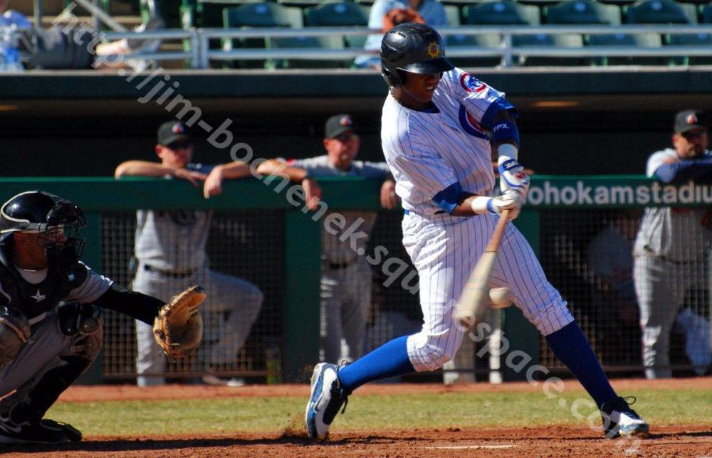 Starlin Castro - Fall League 11-09