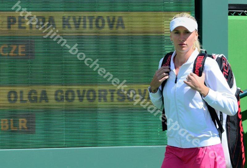 Olga Govortsova - BNP Paribas Open 3-13
