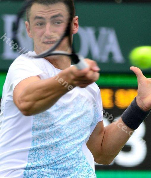 Bernard Tomic - BNP Paribas Open 3-13