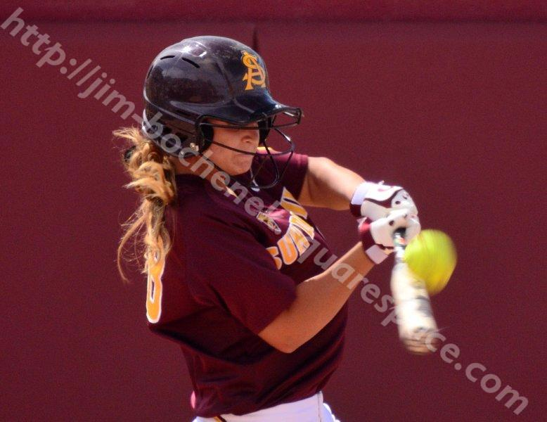 Nikki Girard - ASU Softball 5-26-13