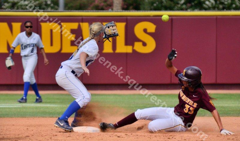 Alix Johnson - ASU Softball 5-26-13