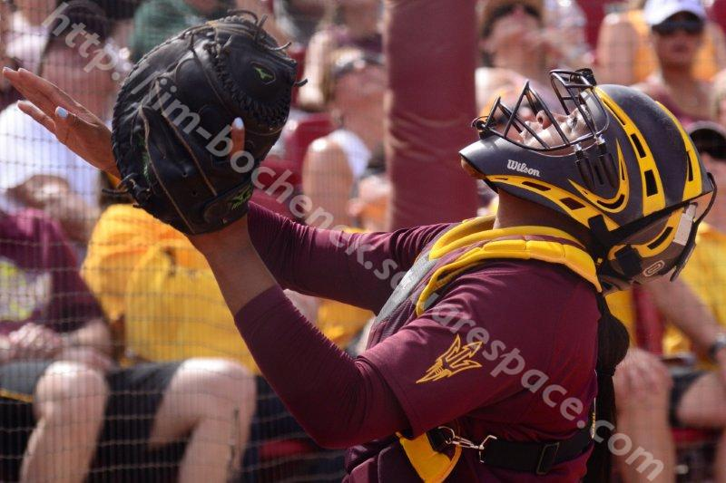 Amber Freeman - ASU Softball 5-26-13
