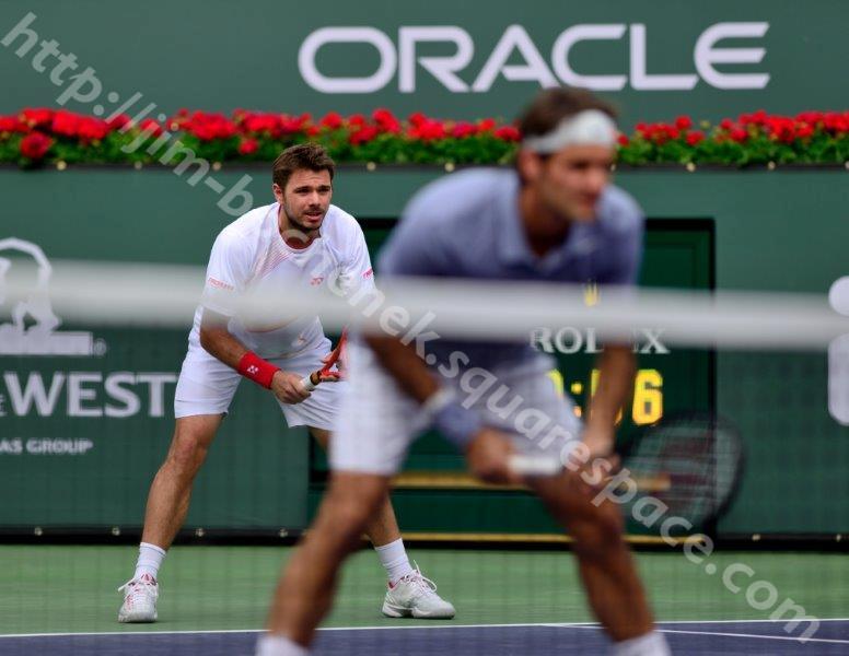 Stan Wawrinka & Roger Federer - BNP Paribas Open 3-14