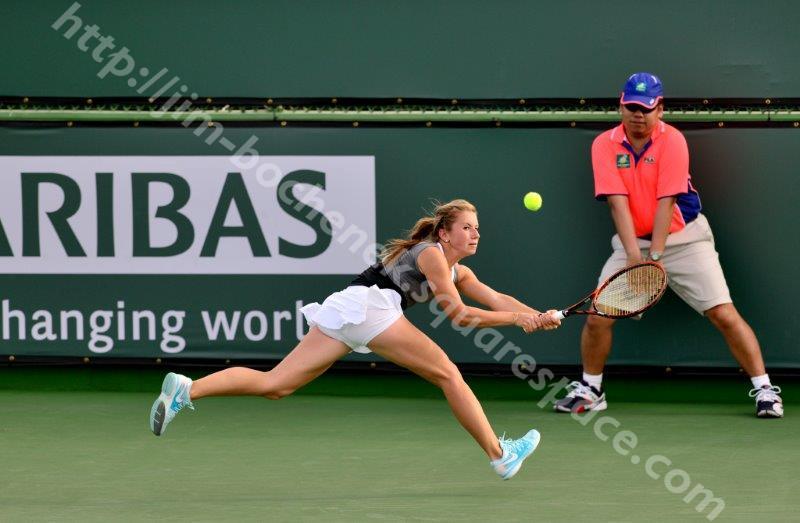 Annika Beck - BNP Paribas Open 3-14