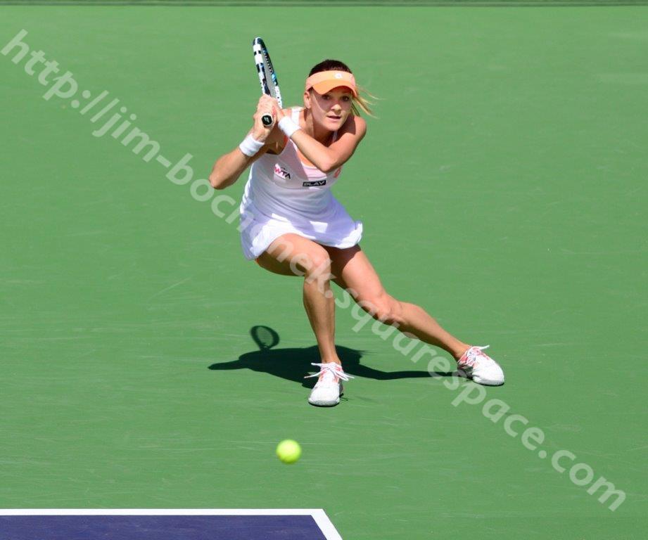 Agnieszka Radwanska - BNP Paribas Open 3-14