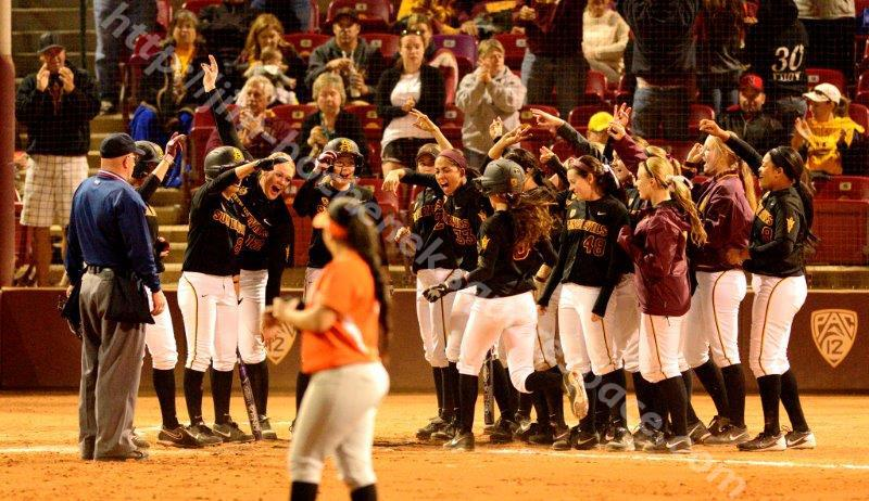 ASU Softball 2-22-14