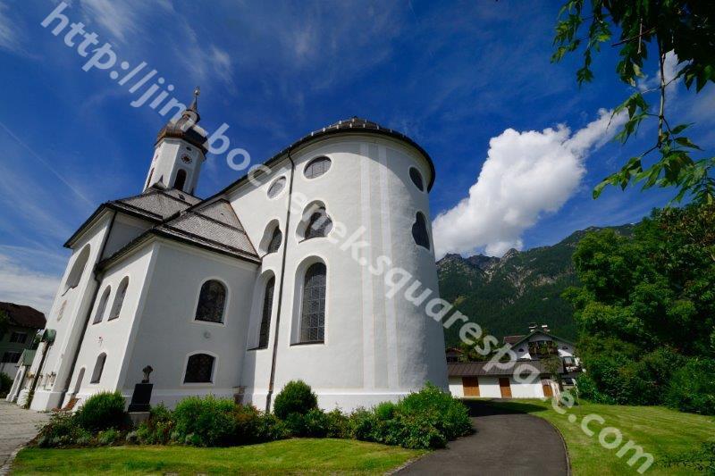 St. Martin Church - Garmisch Partenkirchen Germany