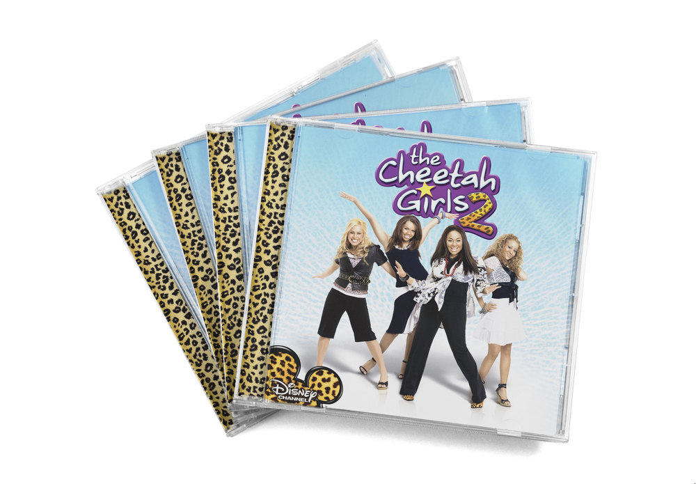 Platinum selling soundtrack to the The Disney Channel's movie  The Cheetah Girls 2.