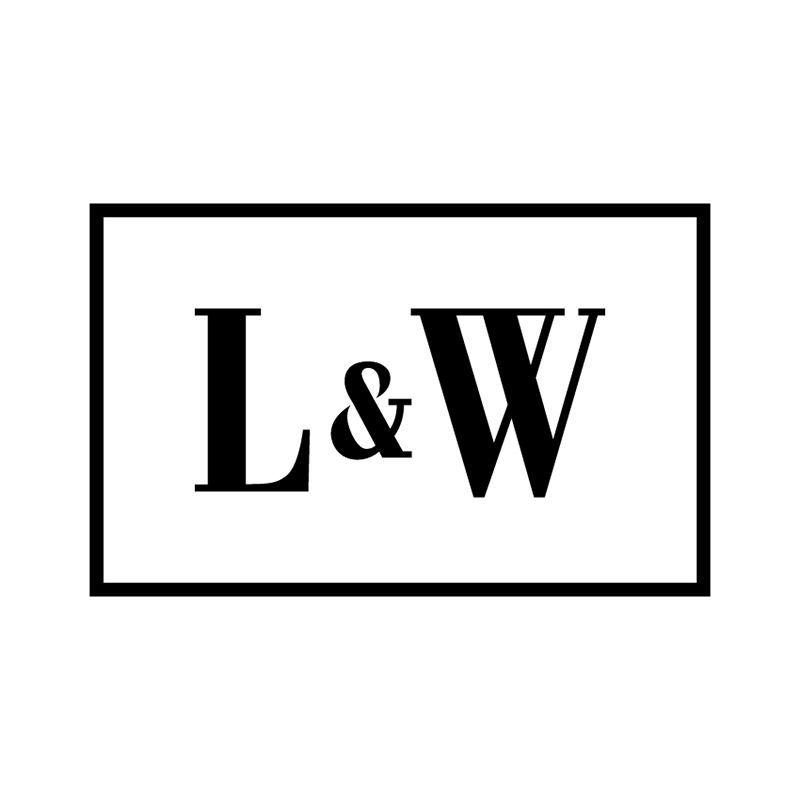 The L&W initials