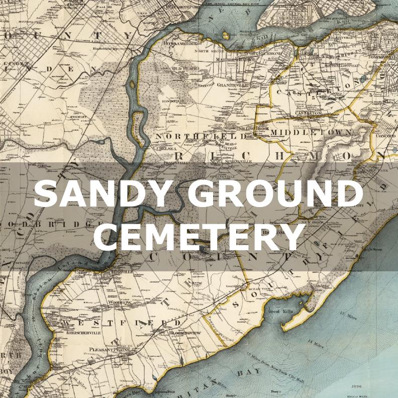 Sandy Ground Cemetery Staten Island Oystermen