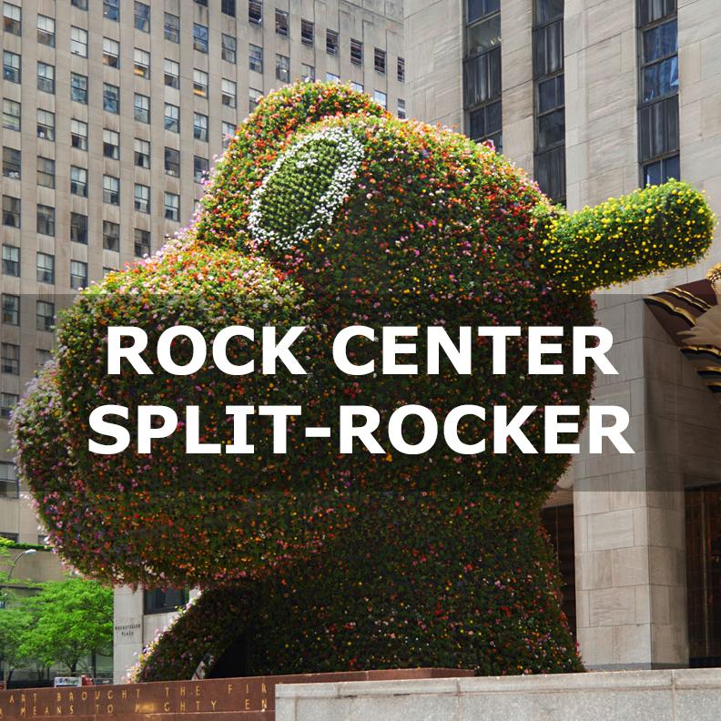 Rockefeller Center Jeff Koons Split Rocker